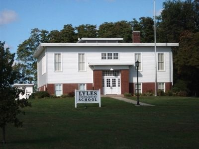 Lyles Station School & Museum image. Click for full size.