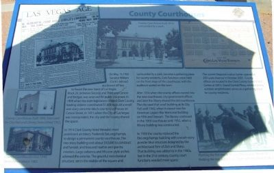 County Courthouses Marker image. Click for full size.