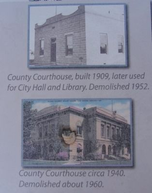 Photo on County Courthouses Marker image. Click for full size.