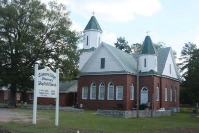 nearby Simmons Ridge Missionary Baptist Church image. Click for full size.