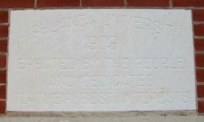 Highland Community College Cornerstone image. Click for full size.