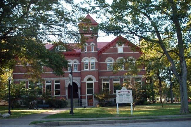 New Harmony Workingmen's Institute Library & Museum Building image. Click for full size.