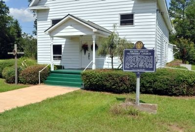 Hilton United Methodist Church Marker image. Click for full size.