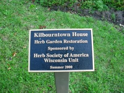 Kilbourntown House Herb Garden Photo, Click for full size