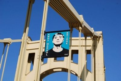 Andy Warhol Bridge Banner image. Click for full size.
