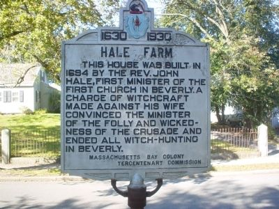 Hale Farm Marker image. Click for full size.