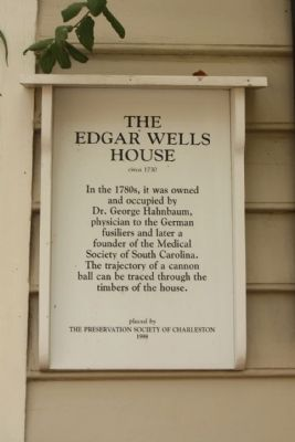 Edgar Wells House Marker image. Click for full size.