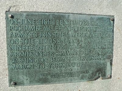Marker on Left of Monument image. Click for full size.