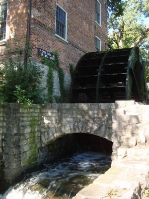 The Graue Gristmill's Waterwheel Photo, Click for full size