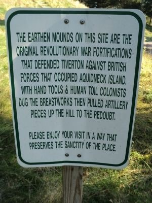 Fort Barton Marker image. Click for full size.