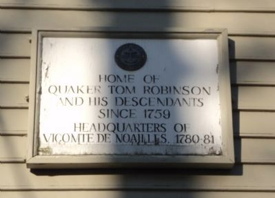 Tom Robinson House Marker image. Click for full size.