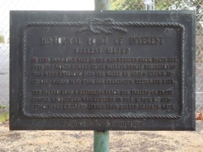 Ballast Island Marker image. Click for full size.