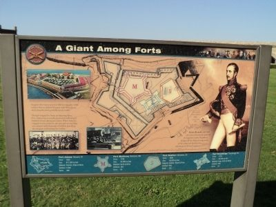 A Giant Among Forts Marker image. Click for full size.