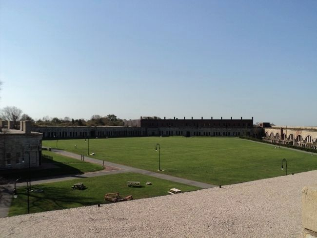 Parade Ground of Fort Adams image. Click for full size.