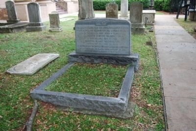 Washington Family Tombstone Photo, Click for full size