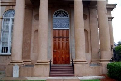 St. Philip's Church West Entrance Photo, Click for full size