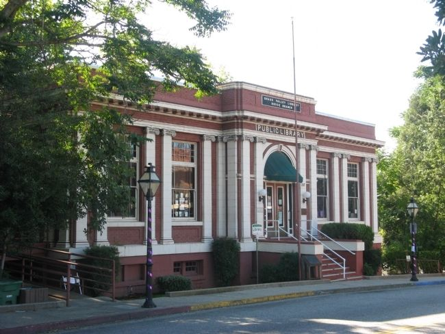 Grass Valley Library image. Click for full size.