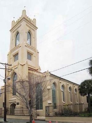 The Unitarian Church in Charleston image. Click for full size.