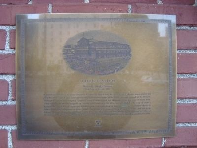 Union Station Marker image. Click for full size.