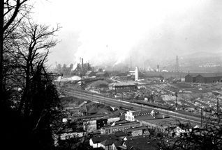 J&L Aliquippa Works image. Click for full size.