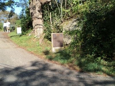 Marker on the Fort Barton Trail image. Click for full size.