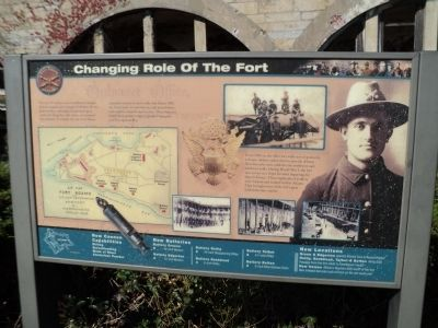 Changing Role of the Fort Marker image. Click for full size.