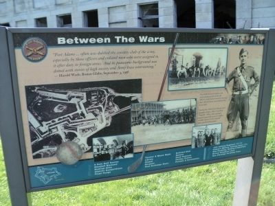 Between the Wars Marker image. Click for full size.