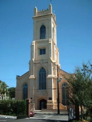 The Unitarian Church in Charleston image. Click for more information.
