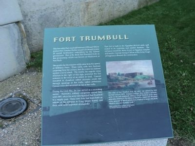 Fort Trumbull Marker image. Click for full size.