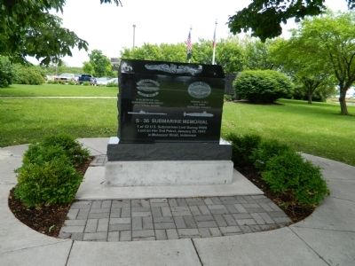 S-36 Submarine Memorial Marker image. Click for full size.