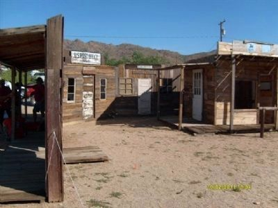 Chloride, Az. Ghost Town Photo, Click for full size