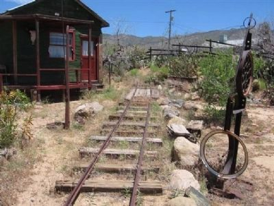 Traces of Arizona and Utah / Western Arizona Railway Photo, Click for full size
