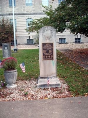 Full View - - Lawrence County Vietnam Honor Roll Marker image. Click for full size.