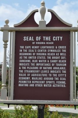 Seal of the City of Virginia Beach Marker image. Click for full size.