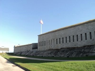 Fort Trumbull (exterior view) image. Click for full size.