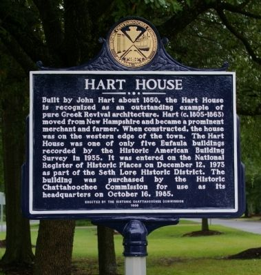 Hart House Marker image. Click for full size.