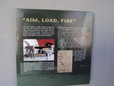 """Aim, Load, Fire"" Marker image. Click for full size."