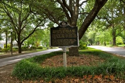 Eufaula Marker image, Click for more information