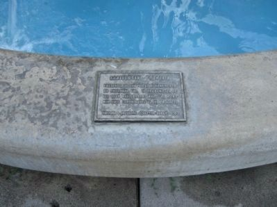 Anniversary Fountain Plaque image. Click for full size.