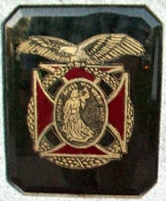 The Military Order of the World Wars Emblem Photo, Click for full size