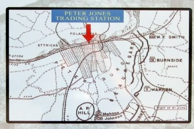 Location of Peter Jones Trading Station image. Click for full size.