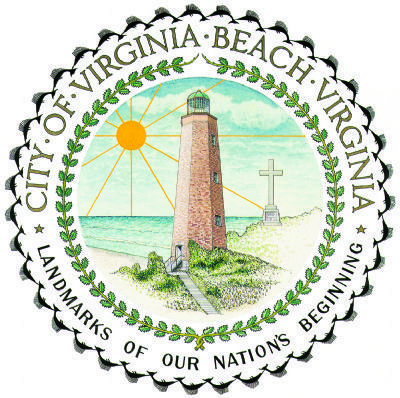 Seal of the City of Virginia Beach image. Click for full size.