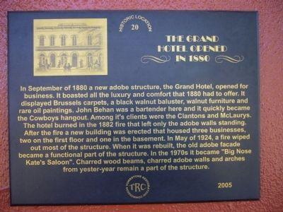 The Grand Hotel Marker image. Click for full size.