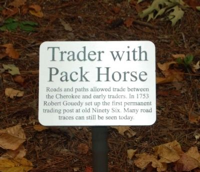 Trader with Pack Horse Marker image. Click for full size.