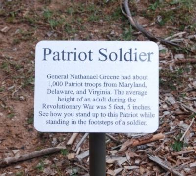 Patriot Soldier Marker image. Click for full size.