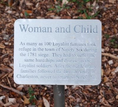 Woman and Child Marker image. Click for full size.