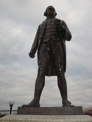 Capt. James Cook, R.N. Statue image. Click for full size.