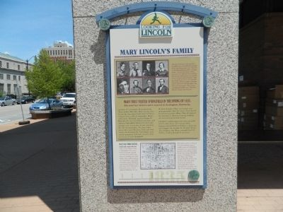 Mary Lincoln's Family Marker image. Click for full size.