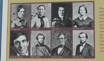 Mary Lincoln's Family Photos image. Click for full size.