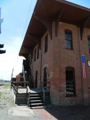Great Western Railroad Depot image. Click for full size.